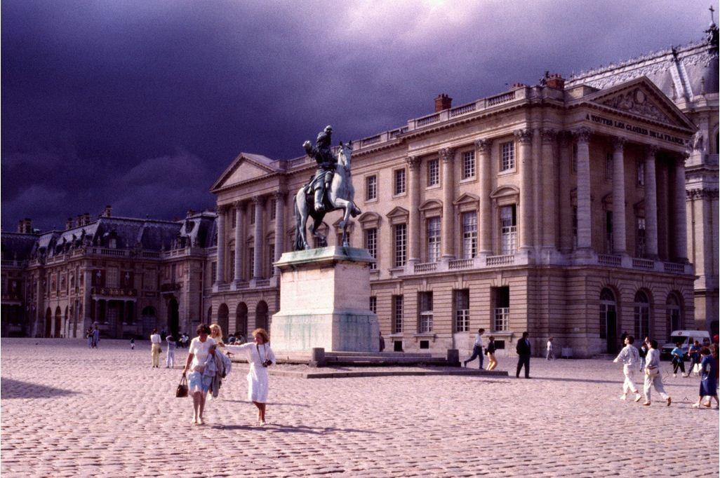 Versailles orage 1987